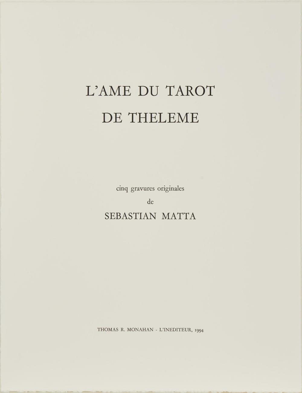 Roberto Matta, (1911-2002, Chilean),