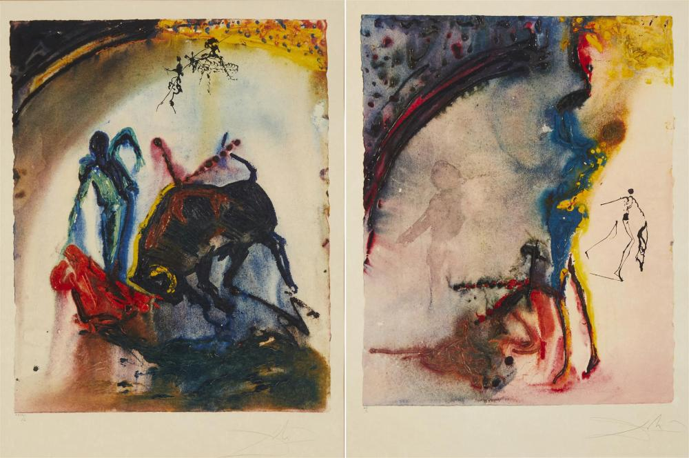 Salvador Dali (1904-1989, Spanish) (Two works)
