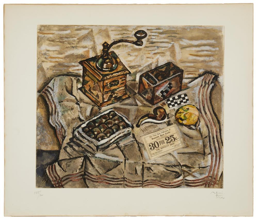 After Joan Miró, (1893-1983, Spanish),