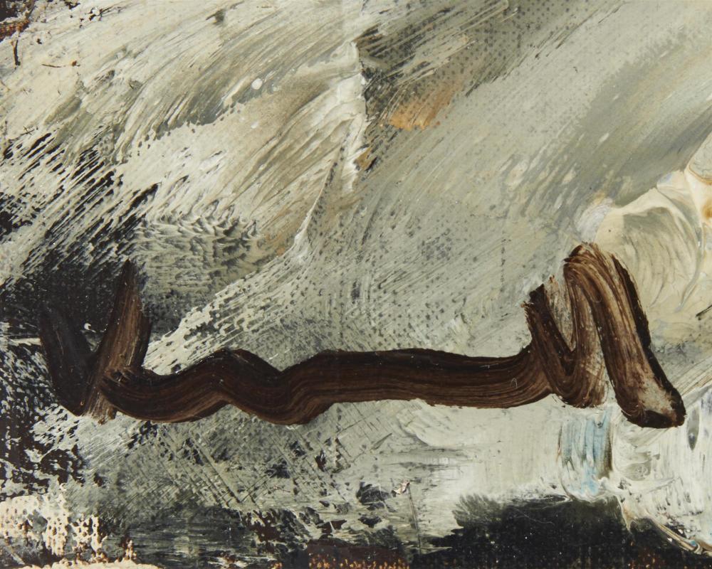 Maurice De Vlaminck, (1876-1958, French), Paysage a la route, Oil on canvas, 19.75