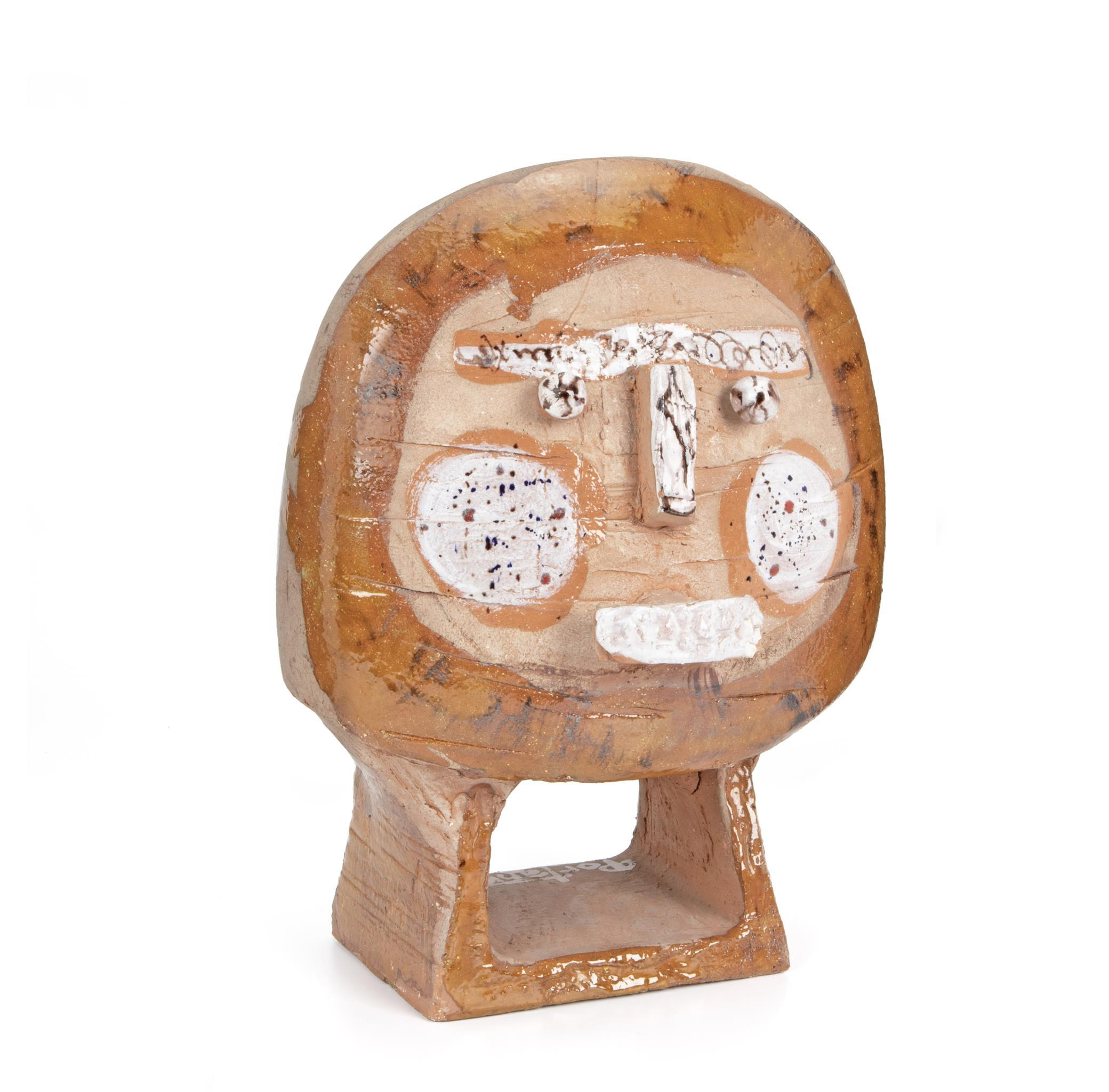 "Gilbert Portanier, (b. 1926, French), Untitled (After Picasso), Terracotta, 14.75"" H x 10.5"" W x 8.25"" D"