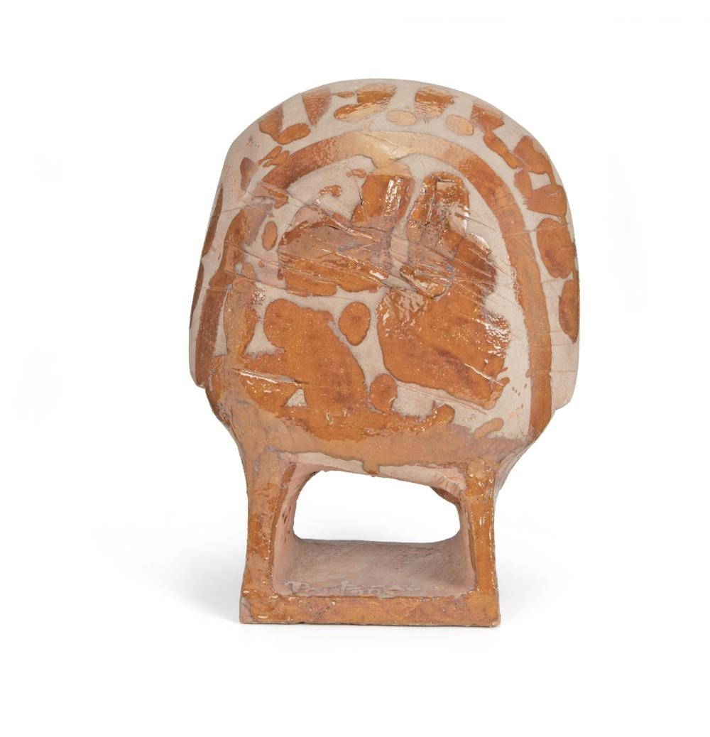 Gilbert Portanier, (b. 1926, French), Untitled (After Picasso), Terracotta, 14.75