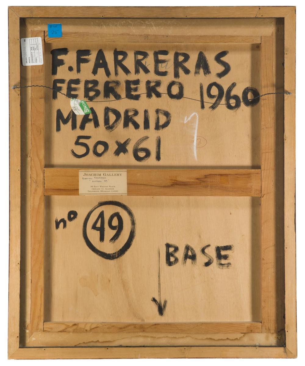 Francisco Farreras, (b. 1927, Spanish),