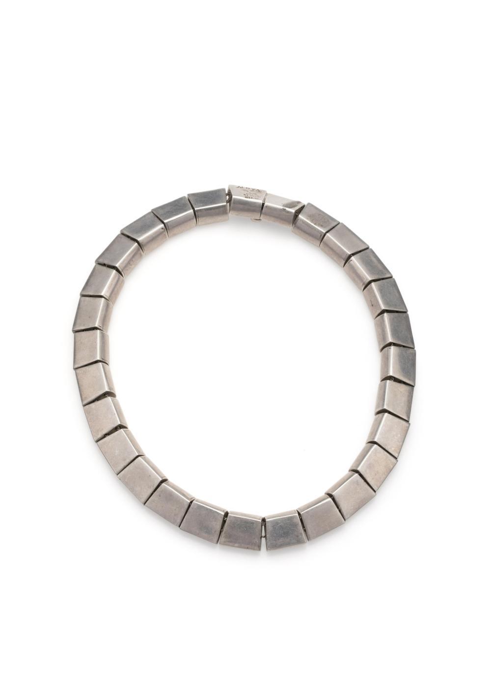 Two Antonio Pineda silver necklaces