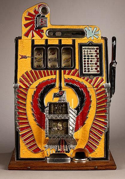 1931 Mills War Eagle Slot Machine