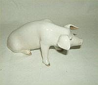 Royal Copenhagen pig