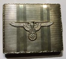 WW2 Beautiful cigarette case from the 3rd Reich with eagle