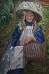 Elizabeth Fisher-clay (1871-1959) American,