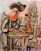Yossi Stern (1923 - 1992) Learning Torah