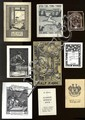 Bookplates from the Beginning through the Middle of the 20th Century. [370].