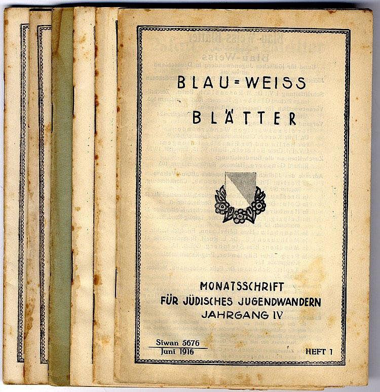 Periodical. Blau Weiss Blatter. Berlin, 1916-1917. [6].