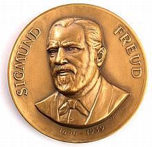 Sigmund Freud - Bronze Medallion