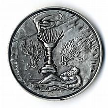 Silver Medal - Zechariah the Prophet, Designed by C. Ofek 1979