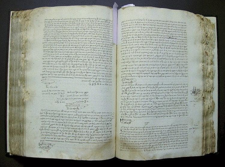 Manuscript. Beit Din Ledger from Amsterdam, [1723-1726]