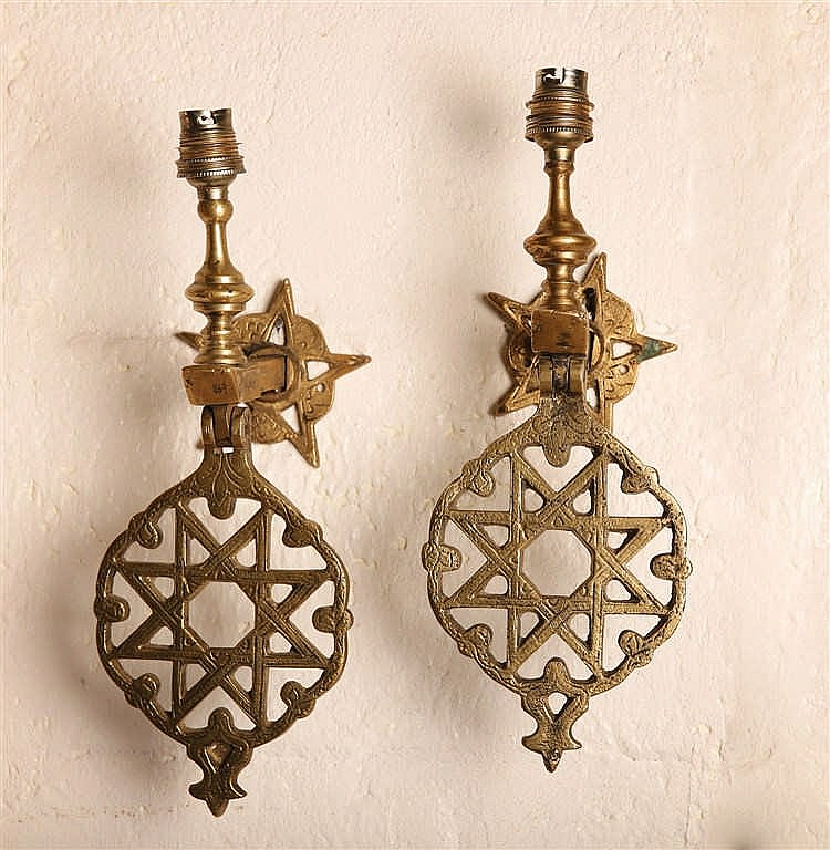 Two Oil Lamps For Wall-Hanging
