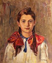 Paul Molda [1884-1955] Young Lady