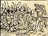 Anti-Semitism. Jews Being Burnt at Stake. Nurnberg, 1493. Incunabula., Michael Wolgemut, Click for value