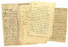 Hundreds of documents from a Jewish doctor at the time of the Second World War. Hungary