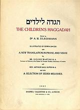 Haggada shel Pesach for children with moving pictures and music notes. London, 1937