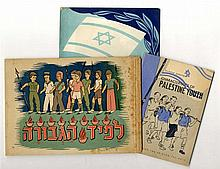Three illustrated children's books regarding Palestine and the revitalization of the Jewish community. 1940s and 50s