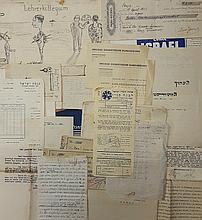 An Enormous Collection of Hundreds of Documents - the Zionist Movement. Israel, 1930's-40's