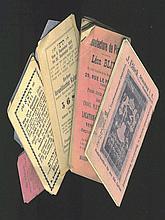 Calendars [6]. 19th-20th Century
