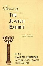 The Jewish Exhibit. United States, 1933-4