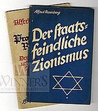 Anti-Semitism. Alfred Rosenberg. Munich, 1937-1938. [2]