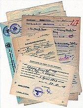 Collection of Letters. Rescue of a Jewish Woman from the Nazi Regime through Marriage with a Chinese Man. Germany, November 1941