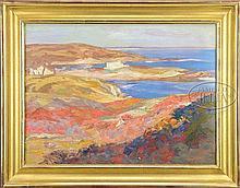 CHARLES HERBERT WOODBURY (American, 1864-1940) OGUNQUIT COAST