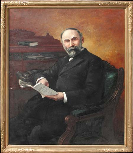 DELBERT DANA COOMBS (American, 1850-1938) PORTRAIT OF MAINE GOVERNOR DINGLEY
