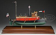 CASE MODEL OF THE TUG BOAT