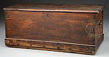 CAMPHOR WOOD CHINA TRADE SEAMAN'S CHEST.