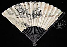 PAINTED FAN, CHINA, ZHANG DAQIAN (1899-1983)