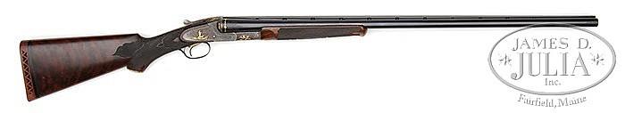 *EXCEPTIONAL ONE-OF-A-KIND L. C. SMITH DE-LUXE GRADE TRAP GUN.