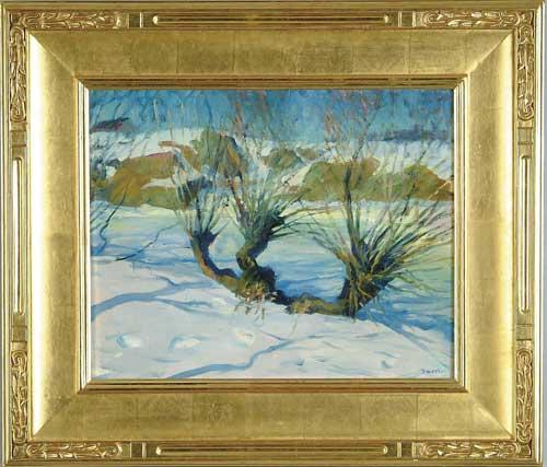 "JOSEPH BENJAMIN DAVOL (American, 1864-1923) ""WINTER SUNLIGHT"""