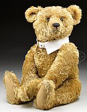 SWEET AND CLASSIC LOOKING EARLY STEIFF BEAR WITH BUTTON AND PROVENANCE.