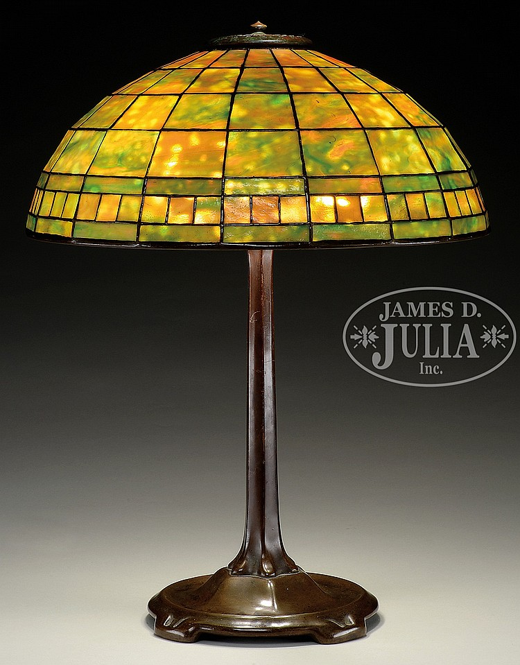 Colonial Table Lamps : Tiffany studios colonial table lamp