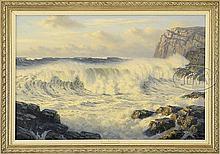 JOSEF (JOSEPH) ARENTZ (American, 1903-1969) MONHEGAN ISLAND