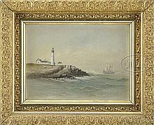 GEORGE M. HATHAWAY (American, 1852-1903) PORTLAND HEADLIGHT