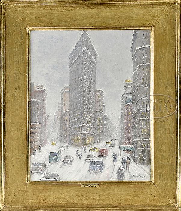 GUY A. WIGGINS (American, 1920-)