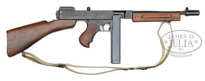MINTY AUTO-ORDNANCE MODEL 1928A1 THOMPSON SUB MACHINE GUN