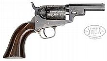 EXCEPTIONAL AND RARE COLT MODEL 1849 WELLS FARGO POCKET PERCUSSION REVOLVER.