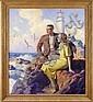 MANNING DEVILLENEUVE LEE (American, 1894-1980) COVER ILLUSTRATION: