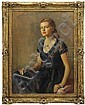 SIR OSWALD BIRLEY (British, 1880-1952) PORTRAIT OF PAMELA WOOLWORTH., Sir Oswald Hornby Joseph Birley, Click for value