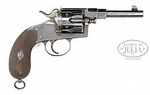 M1883 MILITARY REICHS REVOLVER, HIGH POLISH.