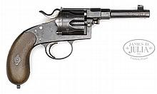 M1883 DREYSE MILITARY REICH REVOLVER, STANDARD PRODUCTION.