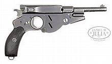 SCARCE BERGMANN M1896, NUMBER 4, CALIBER 8mm BERGMANN.