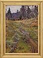 APPOLINARI MIKHAILOVICH VASNETSOV (Russian, 1856-1933) THE PATH ON THE HILL.