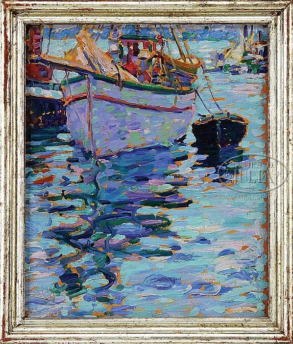 WILLIAM B. HAZELTON (American, 1879-1954) REFLECTIONS.